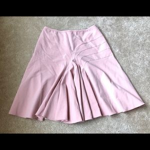 Anthropologie Elevenses Gather Front Skirt. Size 6